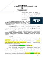Sergipe decide ter Toque de Recolher; shoppings, bares e restaurantes