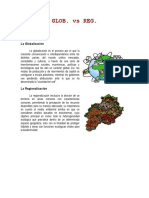 Globalizacion vs Regionalizacion