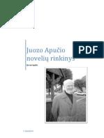 Juozo Apučio novelių rinkinys
