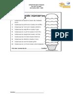 Ficha Matemáticas