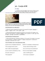 Limba Italiană 4