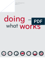 Doing What Works Annual Report