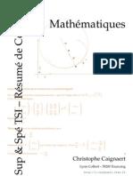cours - mathématiques - Résumé - maths sup & spe