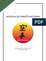 apostila karate shotokan
