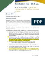 Programa de Trabajo -Campo Aplicado de las Neurociencias del Comportamiento -Semestre 2021-2