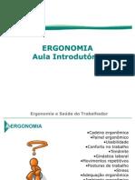 Ergonomia - aula introdutória