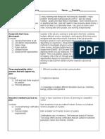 transition plan - plan a and plan b