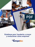 Brochure Empetec 2021