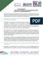 Fondos concursables CONICYT-reglamento-FOCEIT