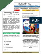Boletín ISO