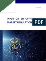 Input on EU Crypto-Asset Markets Regulation