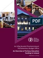 2019 11 25 an Overview of Tertiary Education Funding in Ireland En