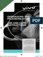 Oval Casserole 29cm Cast+Iron + Use Care Instruct