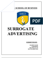 Surrogate Advertising