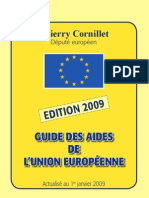 guide-des-aides-europeennes-2009