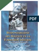 Responsabilidad Del Docente en La Formación Integral Orozco
