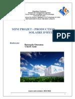Mini Projet Energetique