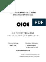 30 S  FICCIÓN Y REALIDAD Pablo Yépez