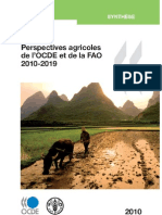 Perspectives agricoles de l'OCDE et de la FAO 2010 - 2019