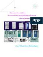 Excel clean room technologies