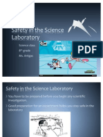 Safety in the Science Laboratory 8th