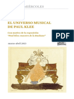 El Universo Musical de Paul Klee