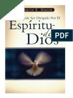 COMO PUEDE SER DIRIGIDO POR EL ESPÍRITU DE DIOS