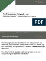 Softwarearchitekturen 2019