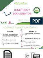 MÓDULO 3. Registros y documentos Angela María Lotero
