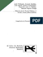Vallespín, F. - Tomás Hobbes y la teoría política de la Revolución inglesa (en, Historía de la teoría política 2. Cap. V)