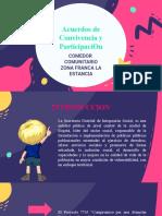ACUERDOS DE PARTICIPACIÓN ZONA FRANCA
