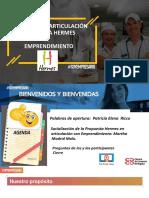Presentación emprendimiento juvenil 2020 Consultores Hermes