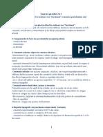Parodontologie. Lucrarea practică nr. 2