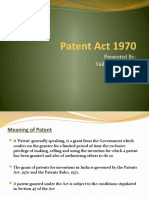 Indian-Patent-Act