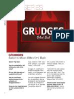 Grudges Newsletter
