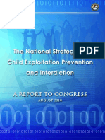 Natural Strategy for Child Exploitation Prevention and Interdiction