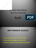 Remote Ops