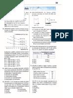 Exercícios de Química - Solubilidade