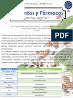 Cartel Encuentro de BCTI Alimentos y Fármacos