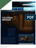 Valerian Mengsk - Game - StarCraft II