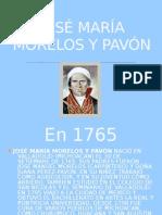JOSE MARIA MORELOS Y PAVON