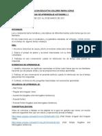 Guía # 1 Inglés 9° 2021