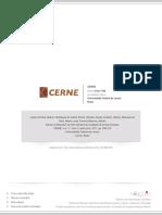 Estudo comparativo de três métodos de avaliação de terras florestais