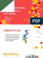 Gaes 6- Presentacion Ejercicios Para Trabajar Punteria