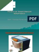 trabalho de transformador - lívia