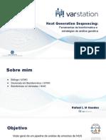 Webinar - Ferramentas de bioinformática e estratégias de análise genética