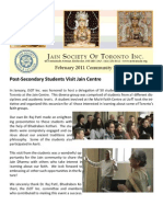 JSOT INC February 2011 Community Newsletter