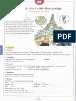 ejercicios libro de frances pag 118,120