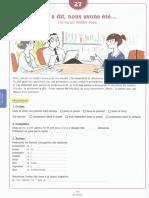 ejercicios libro de frances pag 114-116