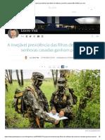 A invejável previdência das filhas de militares_ pensões custam R$ 6 bilhões por ano